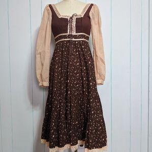 VTG Gunne Sax Prairie Dress